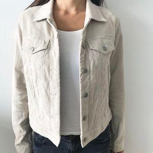 Polo Jeans Ralph Lauren Corduroy Jacket Beige